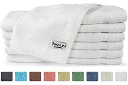 SALBAKOS Luxury Hotel and Spa Washcloths Turkish Cotton 12 P