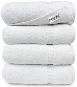 SALBAKOS Luxury Hotel and Spa Bath Towels - 100 Percent Genu