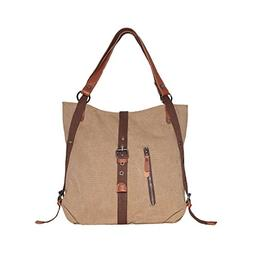 SHANGRI-LA Purse Women's Canvas Tote Bag Casual Shoulder Bag