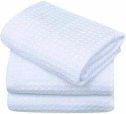 SINLAND Microfiber Dish Drying Towels Dish Towels Waffle Wea
