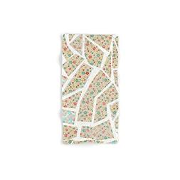 "Society6 Floral Wallpaper Mosaic Hand Towel 30""x15"""