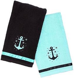 Sourpuss Clothing Anchor Bathroom Hand Towel Set