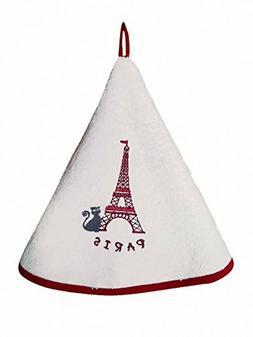 Torchons & Bouchons, Dubout, Les Chats au Tour Eiffel  Round