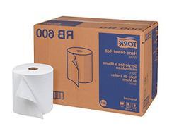 "Tork Advanced RB600 Hardwound Paper Roll Towel, 1-Ply, 7.87"""