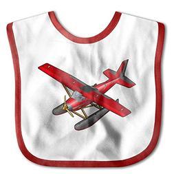 Unisex Baby Bandana Drool Bibs Airplane Aircraft Cotton Neck