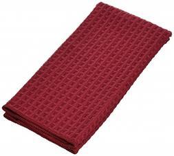 "Kay Dee A8779 16"" X 24"" Cinnamon Microfiber Waffle Towel"