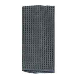 "Kay Dee A8780 16"" X 24"" Charcoal Microfiber Waffle Towel"