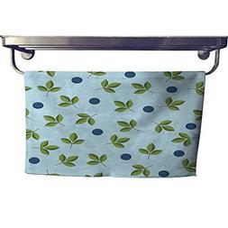 RuppertTextile Absorbent Towel Seamless Berry Wallpaper Towe
