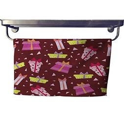 RuppertTextile Absorbent Towel Seamless Wallpaper with Gift-