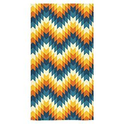 ADEDIY Fashion Custom Towel Aztec Pattern Leaves Bath Towel