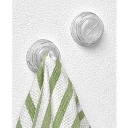 Spectrum Adhesive Towel Grabber Set of 4 Hooks
