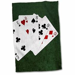 3dRose Alexis Photo-Art - Poker Hands - Poker Hands Two Pair