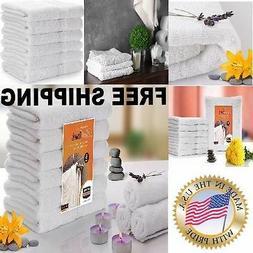 AMAZING Utopia Towels White Large Bath Towels Vintage Hand 1
