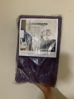 amazon basics cotton hand towel lavender 8