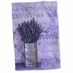 """3dRose Vintage Towel, 15"""" x 22"""","""
