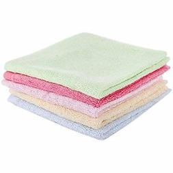 Taprilt Antibacterial 100% Bamboo, Washcloths, Face Cloths,