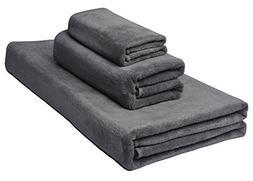 SINLAND Antibactrial Microfiber Towel Sets 3 Pieces 1 Bath T