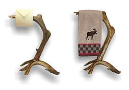 Mountain Mike's Reproductions Antler Hand Towel Bar Stand