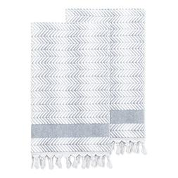 Linum Home Textiles Assos Turkish Cotton Bath Towels