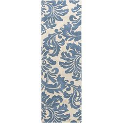 Surya Athena ATH-5076 Classic Hand Tufted 100% Wool Slate Bl