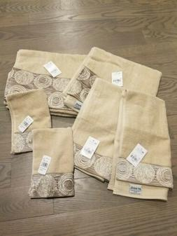 Avanti Galaxy Bath Towels 2 of each - hand, fingertip and ba