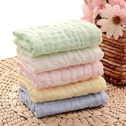 Baby Bibs Saliva Towel Cotton Soft  Face Cloth Hand Towels W