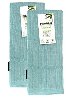 Cuisinart Bamboo Dish Towel Set - Kitchen and Hand Towels fo
