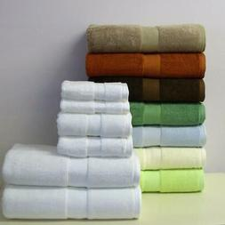 Superior 6-PC Bamboo Cotton Blend Towel Set Highly Absorbent