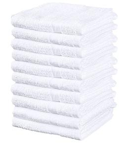 Basic Cotton Hand Towels, 12 Pack, White