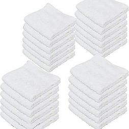 """IZO Bath 24 Pack 12""""x12"""" Cotton Fingertip-Hand-Face Towels 1"""