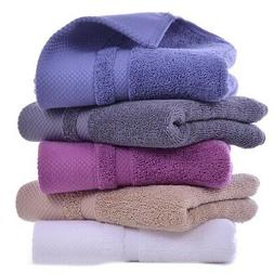 Bath Hand Towels Egyptian Cotton Sheet 650GSM Hotel Soft Qua