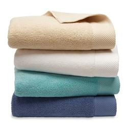 Bath Hand Towels Washcloths Plush Terry Soft Absorbent Solid