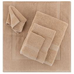 5- Piece Bath Mat Set | Matching Bathroom Floor Mat with Tow