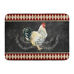 bath mat sign farmhouse vintage