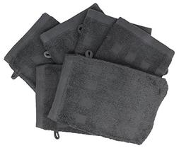 Bath Mitts - Pack of 6 -  European Style Washcloth by MEK