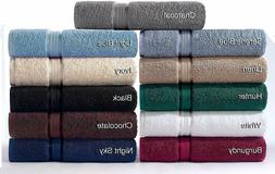 Bath Towel Set 6Pc 100% Ringspun Cotton Ultra Soft Absorbent