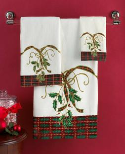 Lenox Bath Towels Holiday Nouveau Hand Towels 16'' X 28'' Mu