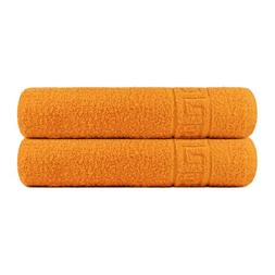 Bath Towels set 2 Bath or 2 Hand Towels Gym Spa 100% Cotton