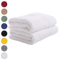 2 PACK Bath Towels Set   Premium Quality Luxury Turkish Cott