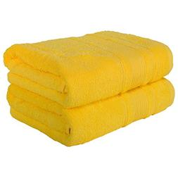 2 PACK Bath Towels Set | Premium Quality Luxury Turkish Cott