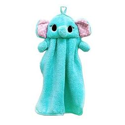 Zxuy Bathroom & Cartoon Cute Hand Towel for Kids