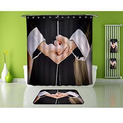 aolankaili Bathroom Suits/16Piece Bathroom Set/Bathroom Acce