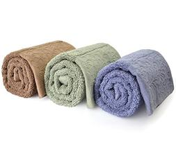 Cleanbear Bathroom Towels Hand Towels - 100% Cotton 500 GSM