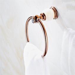 ewtyrgf Bathroom Wall Mounted Towel Rail Bar Retro-Copper Ba