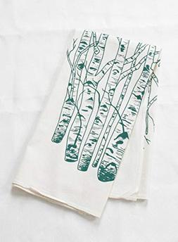 Tea Towel - Organic Cotton - Birch Tree