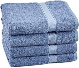 Pinzon Egyptian Cotton Bath Towel Set  - Wedgewood