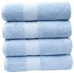 """Bliss Luxury Combed Cotton Bath Towels - 34"""" x 56"""" Extra Lar"""