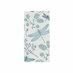 senya Blue Dragonfly Hand Towel Ultra Soft Luxury Towels for