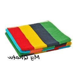 "Ikea Bokvik Hand Towel Stripes Multicolor Bathroom Towel 16"""