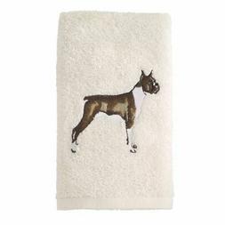 Avanti Linens 021552 Box Boxer Hand Towel 2 Pack, Ivory, 2 P